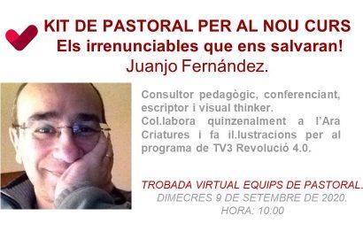 Trobada virtual de Pastoral 2020